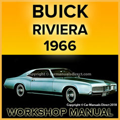 BUICK Riviera 1966 Workshop Manual