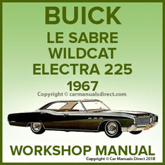 BUICK 1967, Lesabre, Wildcat, Electra 225 Workshop Manual