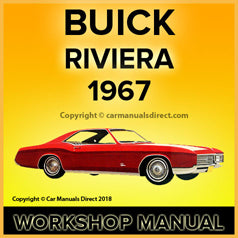BUICK Riviera 1967 Workshop Manual