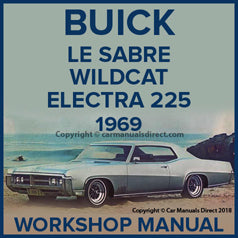 BUICK Lesabre, Wildcat, Electra 225 1969 Workshop Manual