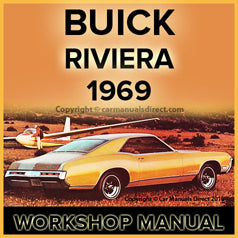 BUICK Riviera 1969 Workshop Manual