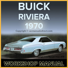 BUICK Riviera 1970 Workshop Manual