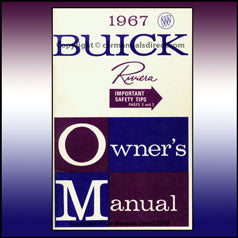 Buick Riviera 1967 Owners Hand Book - FREE