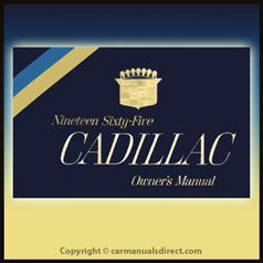 Cadillac 1965 Owners Hand Book - FREE!
