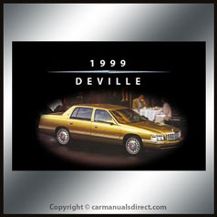 Cadillac Deville 1999 Owners Hand Book - FREE!