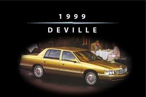 Cadillac 1999 Deville Owners Handbook - FREE