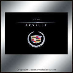 Cadillac Seville 2001 Owners Hand Book - FREE!