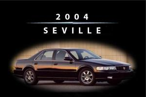 Cadillac Seville 2004 Owners Handbook - FREE