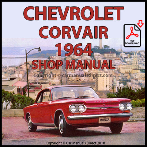CHEVROLET Corvair, Monza and Spyder 1964 Shop Manual | carmanualsdirect