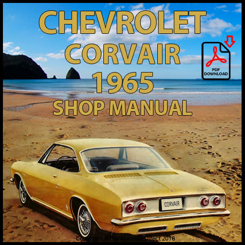 CHEVROLET 1965 Corvair, Monza and Corsa Shop Manual | carmanualsdirect