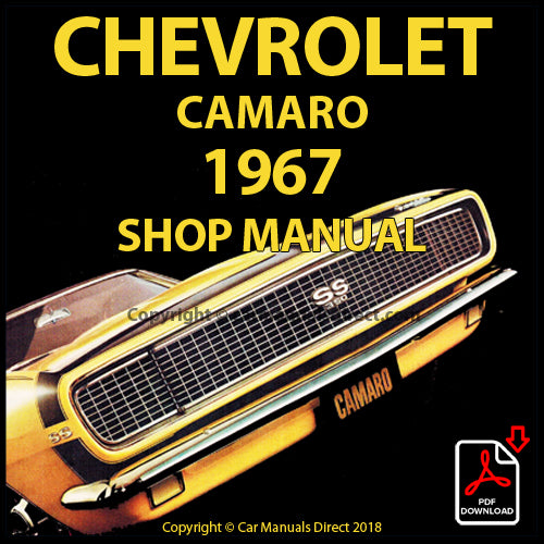 CHEVROLET 1967 Camaro Factory Shop Manual | carmanualsdirect