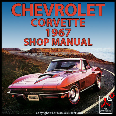 CHEVROLET 1967 Corvette Shop Manual | carmanualsdirect