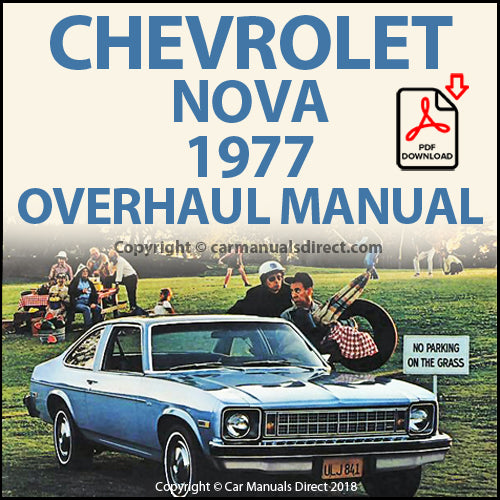 Chevrolet 1977 Nova 1977 Overhaul Shop Manual | carmanualsdirect
