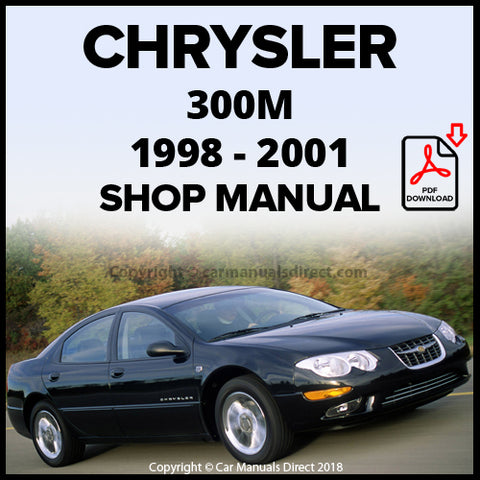 CHRYSLER 1998-2001 300M Shop Manual | carmanualsdirect