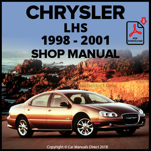 CHRYSLER 1998-2001 LHS Shop Manual | carmanualsdirect