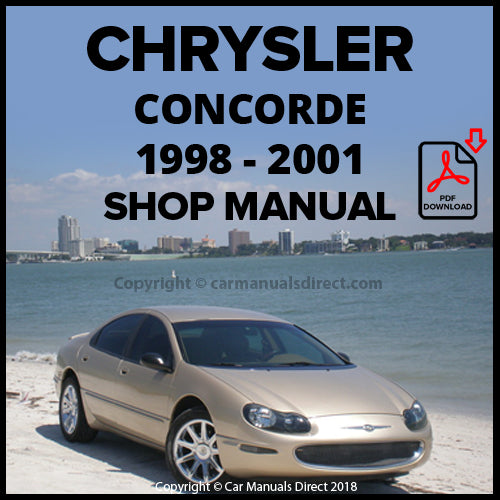 CHRYSLER 1998-2001 Concorde Shop Manual | carmanualsdirect