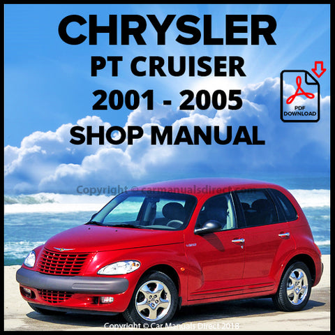 CHRYSLER 2001-2005 PT Cruiser Shop Manual | carmanualsdirect