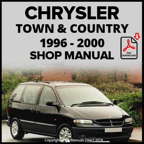 CHRYSLER 1996-2000 Town and Country Shop Manual | carmanualsdirect