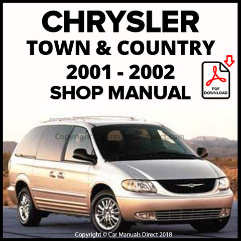Chrysler 2001-2002 Town and Country Shop Manual | carmanualsdirect