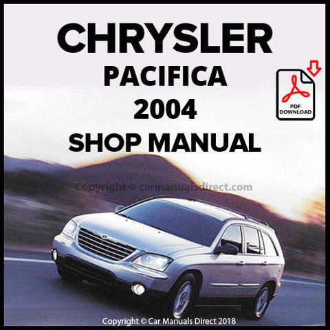 CHRYSLER 2004 Pacifica Shop Manual | carmanualsdirect