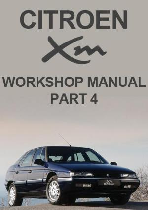 Citroen XM Workshop Manual - Part 4 - FREE