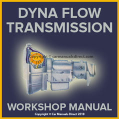 BUICK Dyna flow Automatic Transmission Overhaul Manual