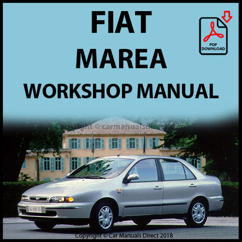 FIAT Marea 1996-2002 Workshop Manual | carmanualsdirect