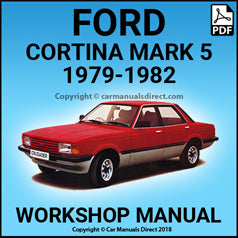 FORD 1979-1982 Cortina L, GL and Ghia Mark 5 Workshop Manual | carmanualsdirect