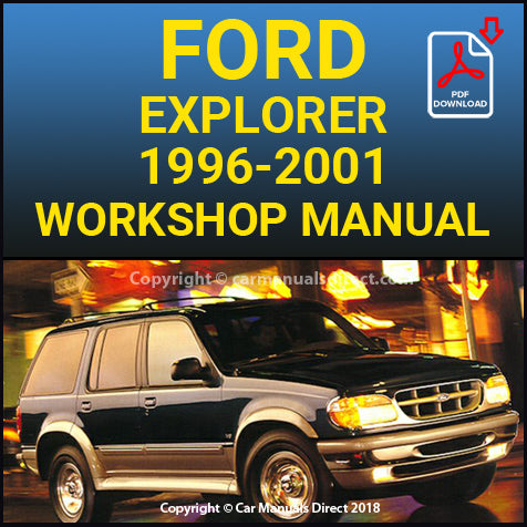 FORD Explorer 1996-2001 Shop Manual | carmanualsdirect