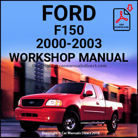 FORD F150 and F250 Pick Up 2000-2003 Shop Manual | carmanualsdirect