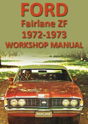 FORD Fairlane ZF Series 1972-1973 Workshop Manual