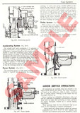 HOLDEN FX 48-215 Sedan and Utility 1948-1953 Shop Manual