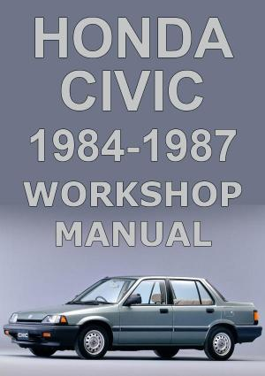 HONDA Civic 1983-1987 Workshop Manual | carmanualsdirect