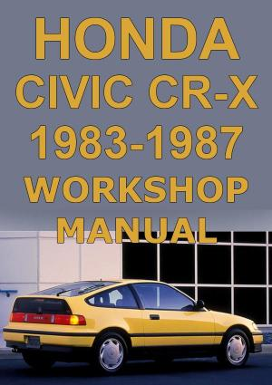 HONDA CRX 1983-1987 Workshop Manual | carmanualsdirect