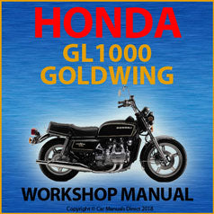Honda GL1000 Goldwing 1975-1979 Workshop Manual