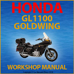 Honda GL1100 Goldwing 1980-1983 Workshop Manual