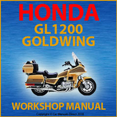 Honda GL1200 Goldwing 1983-1987 Workshop Manual