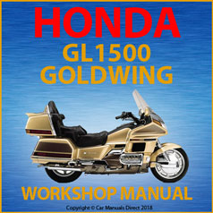 Honda GL1500 Goldwing 1987-2000 Workshop Manual