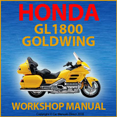 Honda GL1800 Goldwing 2001-2005 Workshop Manual