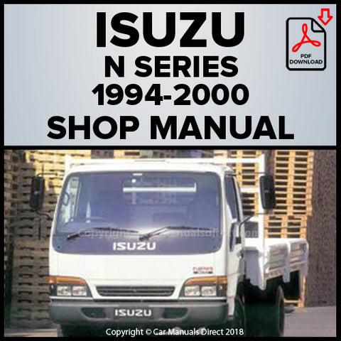 ISUZU N Series Truck 1994-2000 Shop Manual | carmanualsdirect