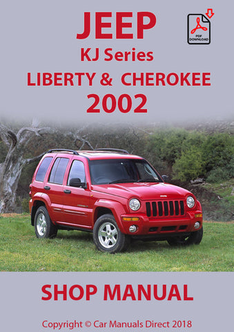JEEP Cherokee and Liberty 2002 KJ Shop Manual | carmanualsdirect