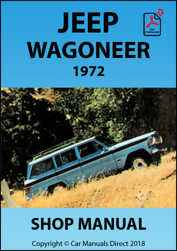 JEEP Wagoneer 1972 Shop Manual | carmanualsdirect
