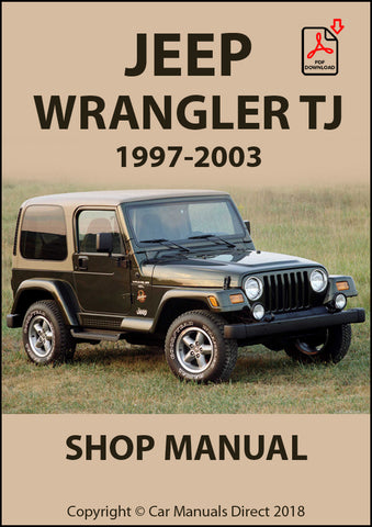 JEEP Wrangler TJ 1997-2003 Shop Manual | carmanualsdirect