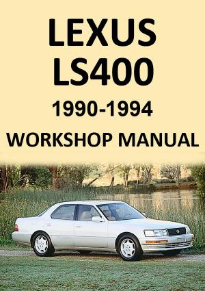 LEXUS LS400 1990-1994 Workshop Manual