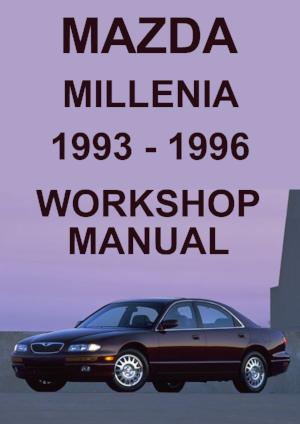 MAZDA Millenia 1993-1996 Workshop Manual