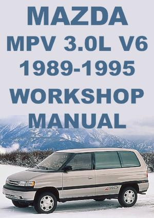 MAZDA MPV 1989-1995 Workshop Manual