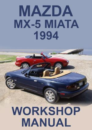 MAZDA Miata MX5 1994 Workshop Manual