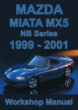 MAZDA Miata MX5 1999-2001 Workshop Manual