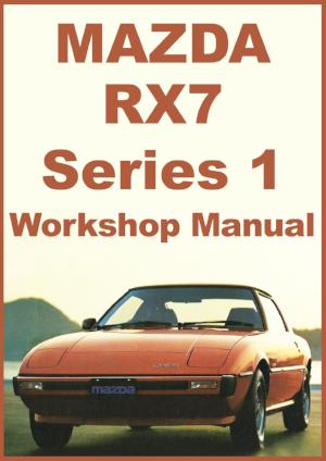 MAZDA RX7 1979-1980 Workshop Manual