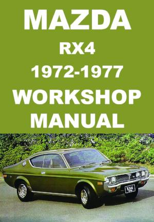 MAZDA RX4 1972-1977 Workshop Manual